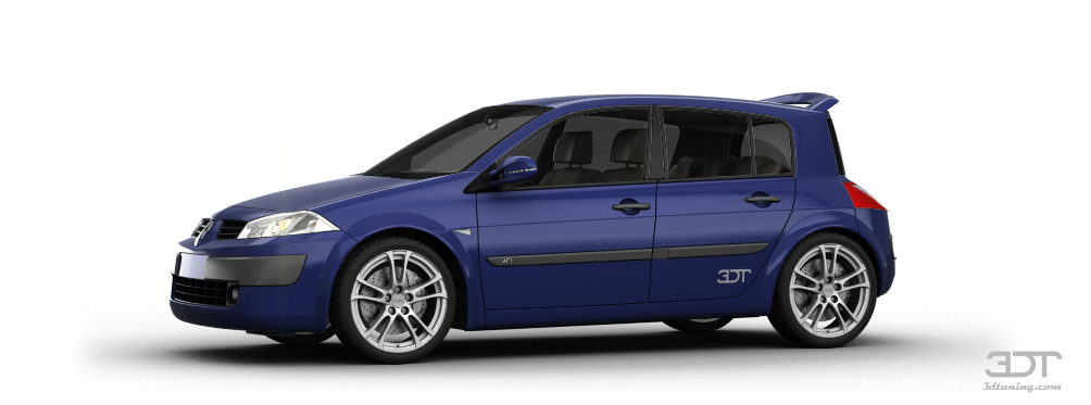 3dtuning of renault megane 5 door hatchback 2002 unique on line car configurator. Black Bedroom Furniture Sets. Home Design Ideas