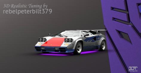 Lamborghini Countach 82 By Rebelpeterbilt379