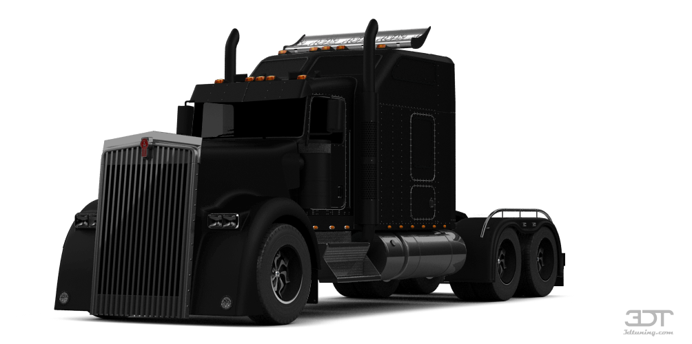 Kenworth W900 Sleeper Cab'14