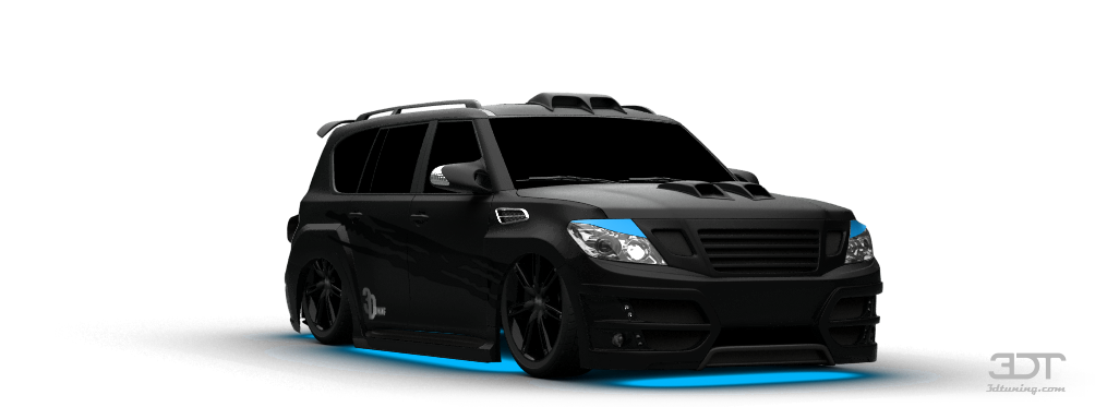 3dtuning of nissan patrol suv 2010 unique - Coupe vent terrasse transparent ...