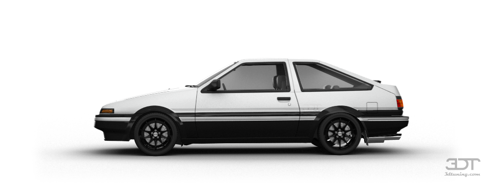 Toyota AE86 Coupe 1985 tuning