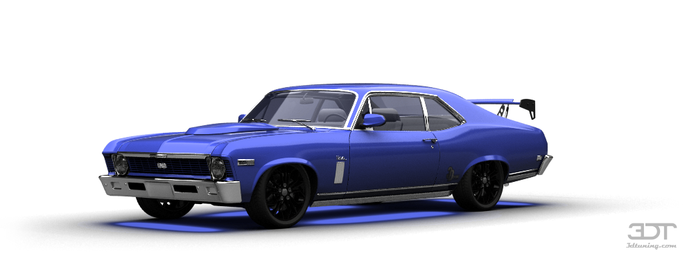 Chevrolet Nova SS Coupe 1968 tuning