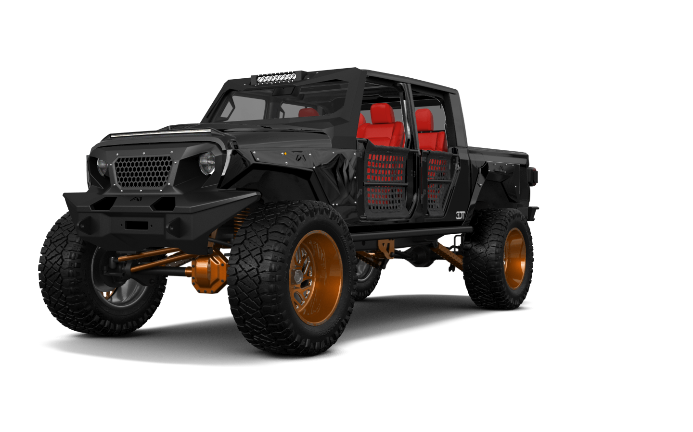 Jeep Gladiator JT Pickup Truck 2020 tuning