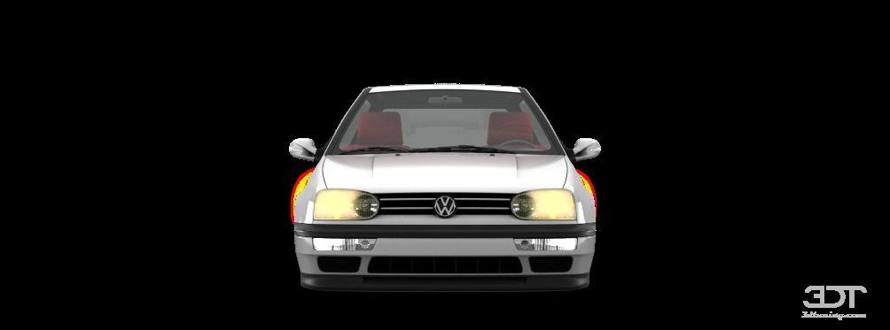 3DTuning of Volkswagen Golf 3 3 Door Hatchback 1991 3DTuning