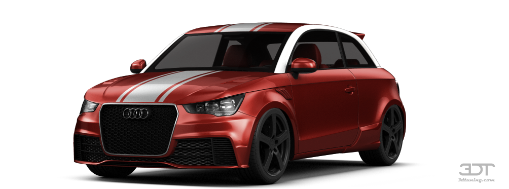 Audi A1 3 Door Hatchback 2011 tuning