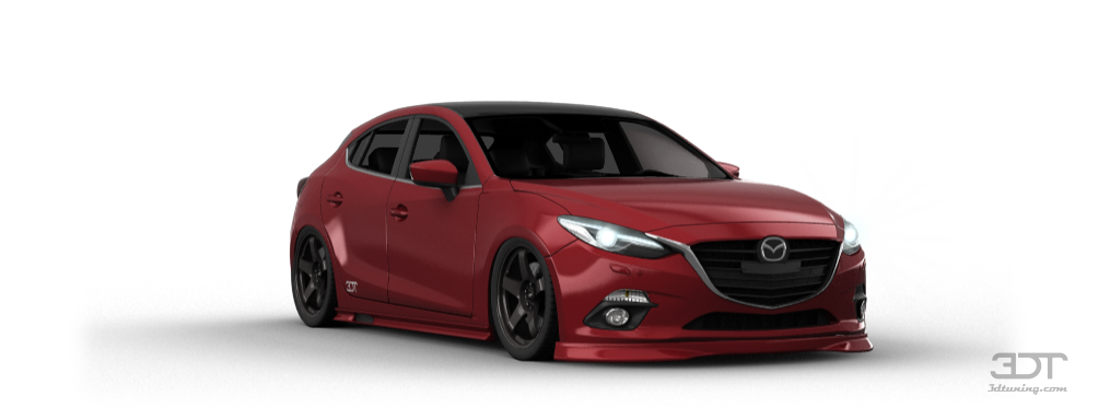 Mazda 3 5 Door Hatchback 2014 tuning ...  sc 1 st  3D Tuning & My perfect Mazda 3.