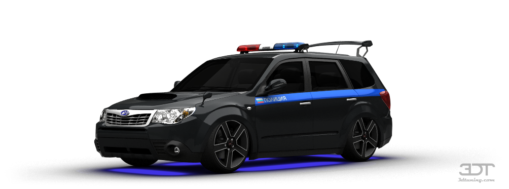 Subaru Forester Crossover 2008 tuning