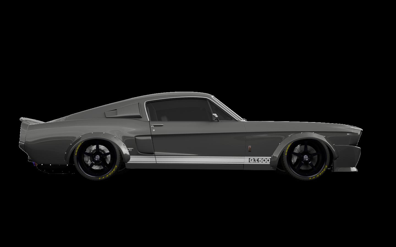 Mustang GT500 2 Door Coupe 1968 tuning