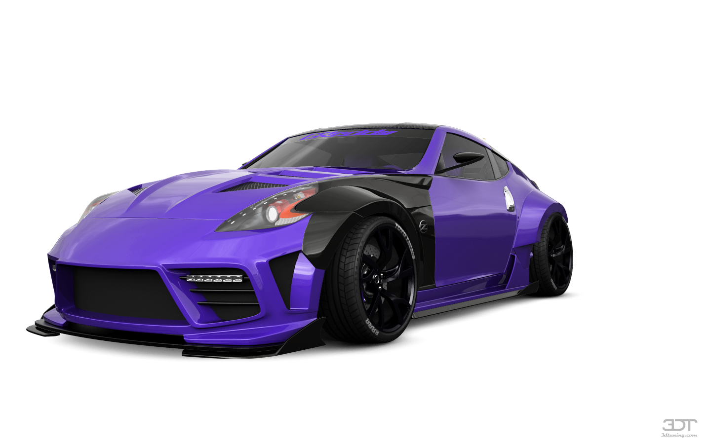 Nissan 370Z 3 Door Coupe 2015 tuning