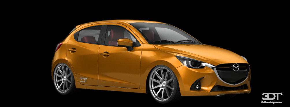 3dtuning Of Under Construction Mazda 2 5 Door Hatchback