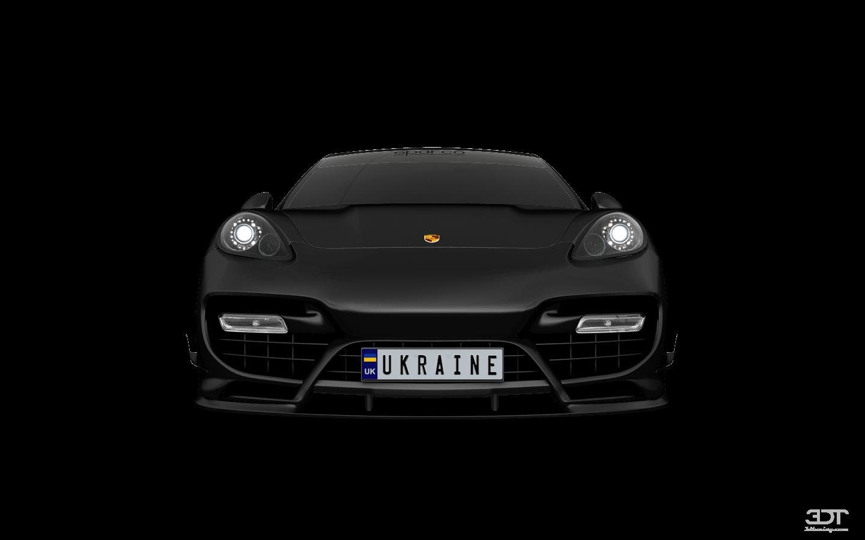 Porsche Panamera 4 door fastback saloon 2011