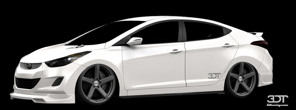 Hyundai Elantra Sedan 2011 tuning