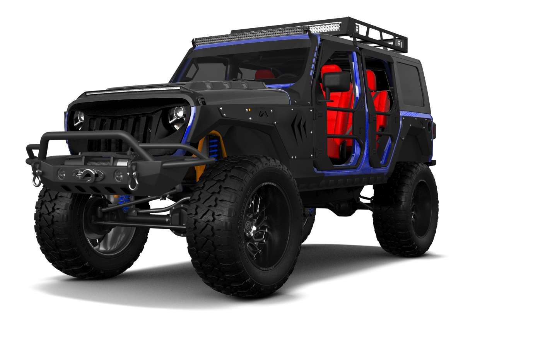 Jeep Wrangler Rubicon JL 4 Door SUV 2017 tuning