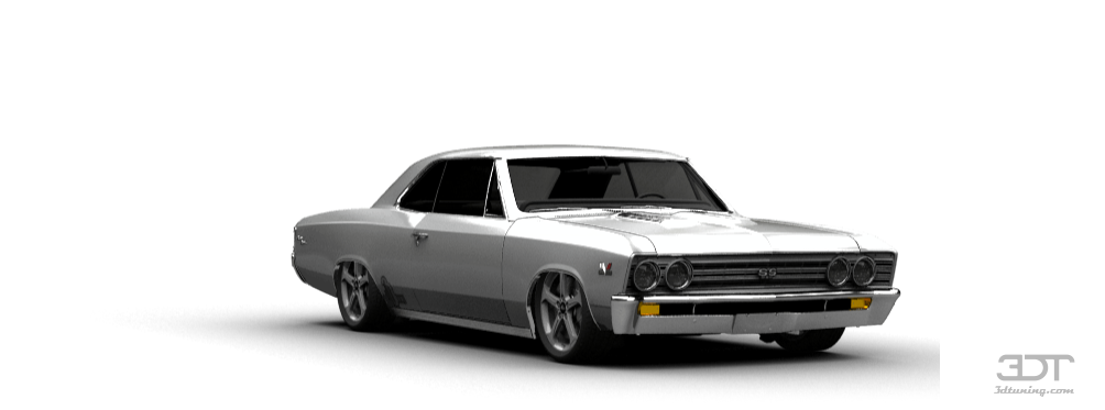 Chevelle Ss >> 3DTuning of Chevrolet Chevelle SS-396 Coupe 1967 3DTuning ...