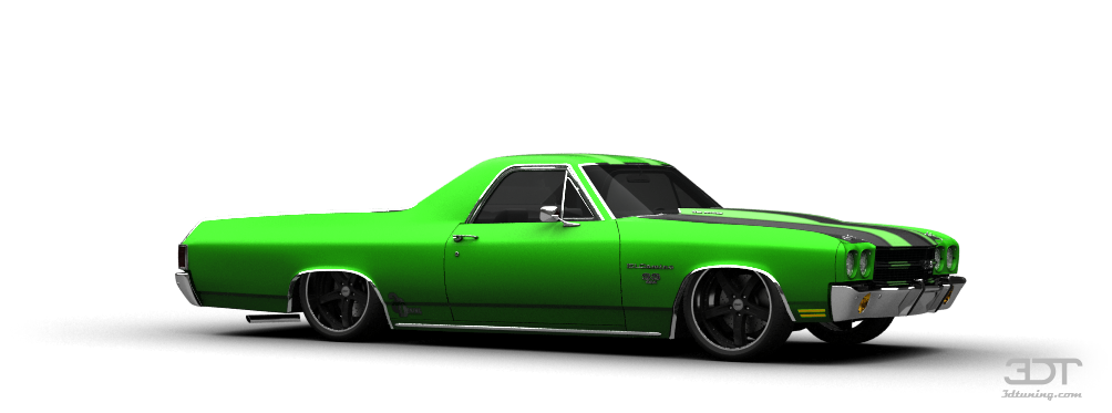 3dtuning Of Chevrolet El Camino Ss 454 Coupe 1970 3dtuning Com Unique On Line Car Configurator