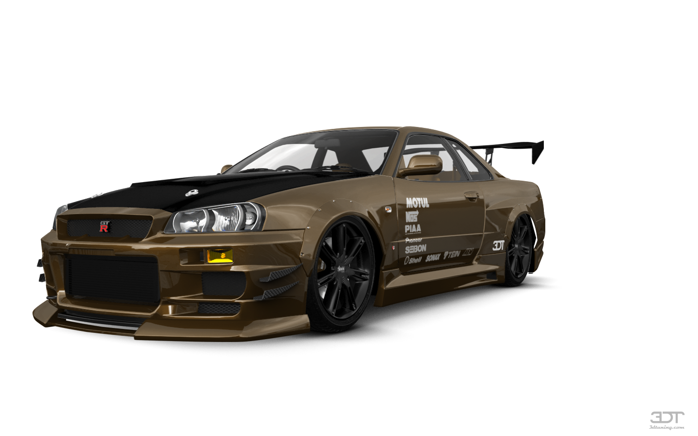 Nissan Skyline GT-R 2 Door Coupe 2000 tuning