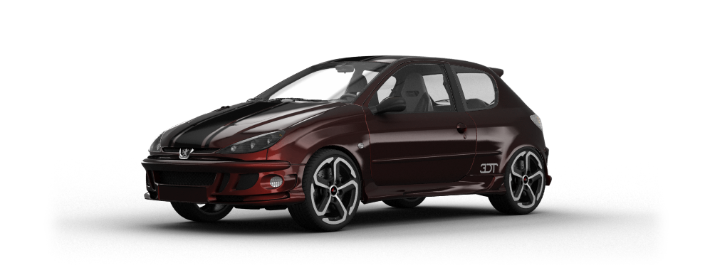 Peugeot 206 3 Door Hatchback 1998 tuning