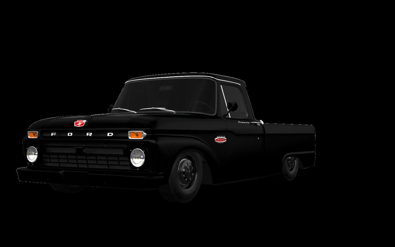Ford F-100 Custom Cab 2 Door pickup truck 1966 tuning