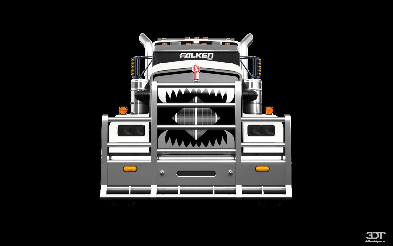Kenworth W900 Sleeper Cab Truck 2015