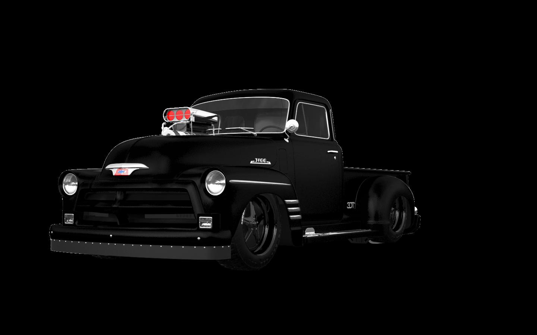 Chevrolet 3100 2 Door pickup truck 1954 tuning