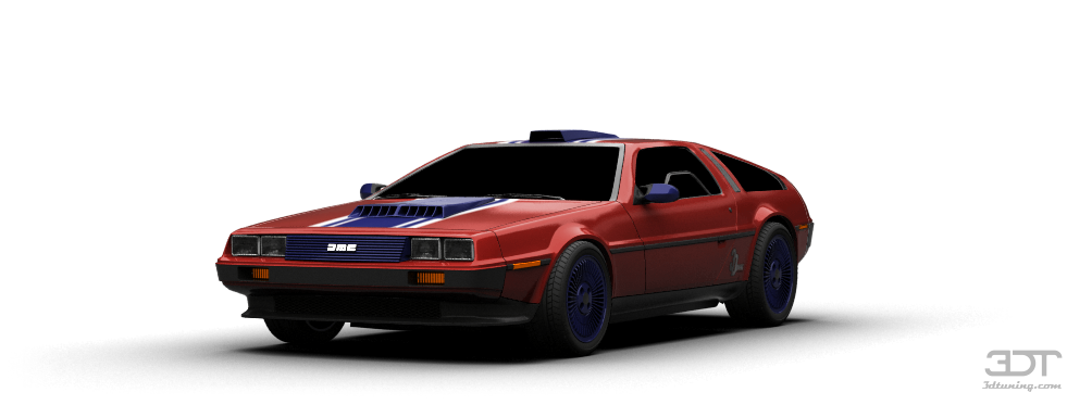 3dtuning Of Delorean Dmc 12 Coupe 1981 3dtuning Com