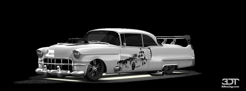Cadillac De Ville Coupe 1956 tuning