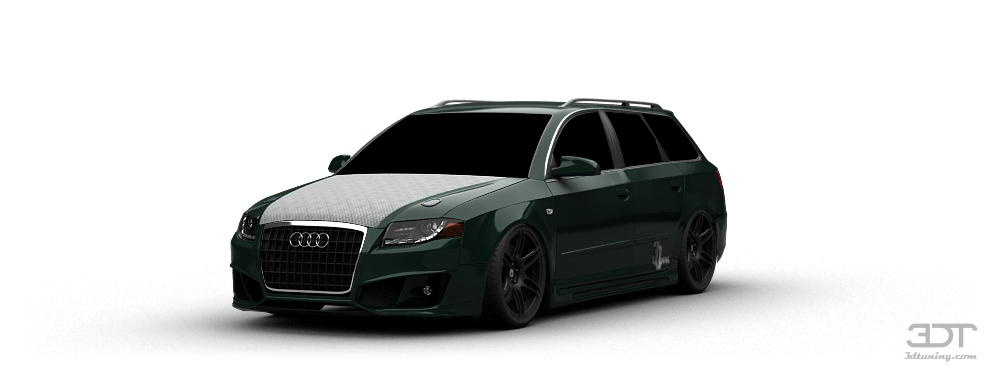 3dtuning Of Audi A4 Wagon 2004 3dtuning Com Unique On