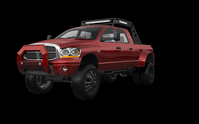Dodge Ram 3500 Dually 4 Door pickup truck 2007 tuning