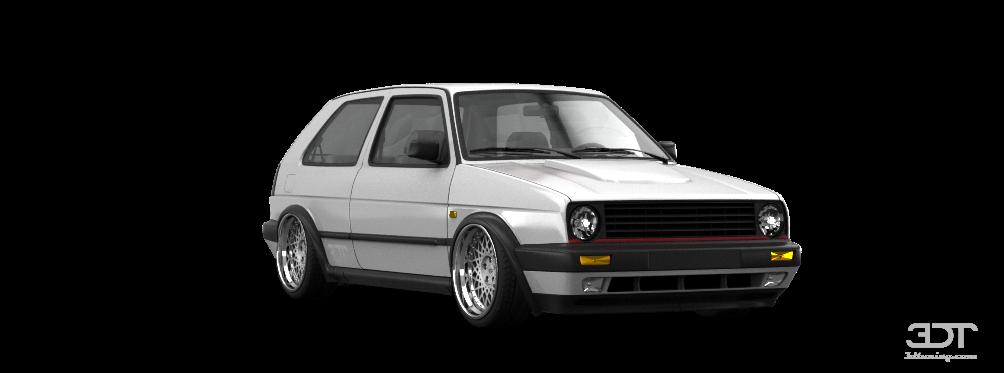 My Perfect Volkswagen Golf 2 Gti