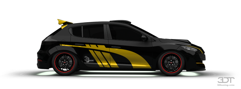 3DTuning - styling and tuning, disk neon, iridescent car paint