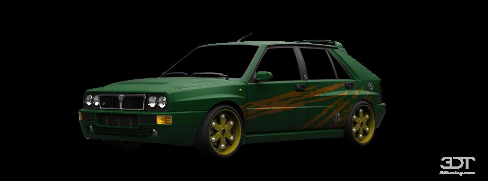 Lancia Delta EVO 5 Door Hatchback 1992 tuning