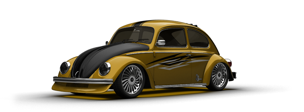 Volkswagen Beetle sedan 1980 tuning