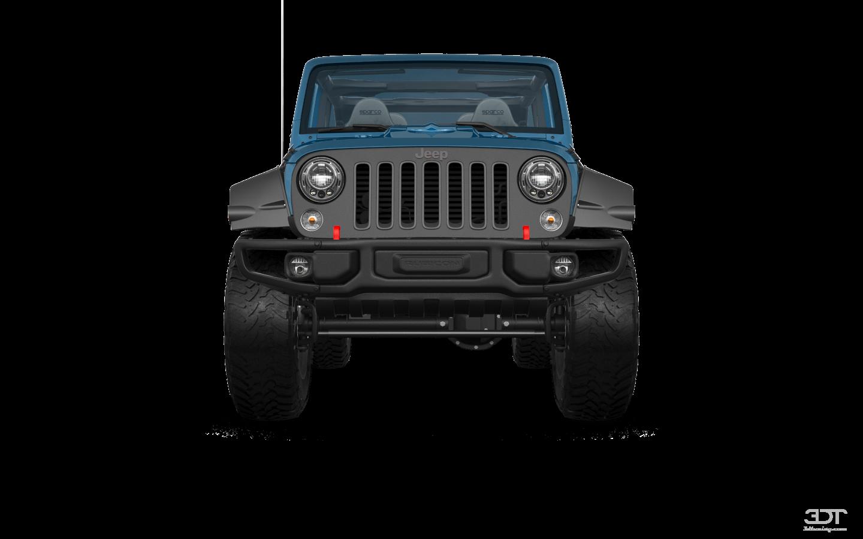 Jeep Wrangler Unlimited Rubicon Recon 4 Door SUV 2017