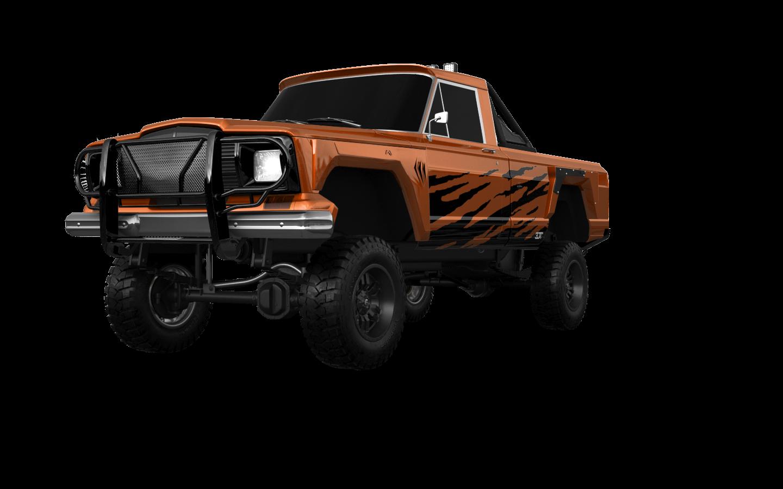 Jeep Gladiator SJ 2 Door pickup truck 1988 tuning
