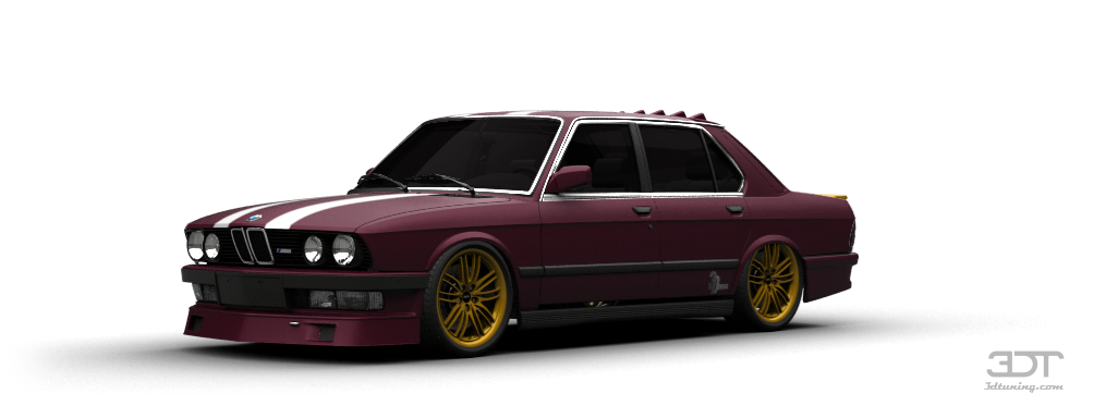 BMW 5 Series Sedan 1981 tuning
