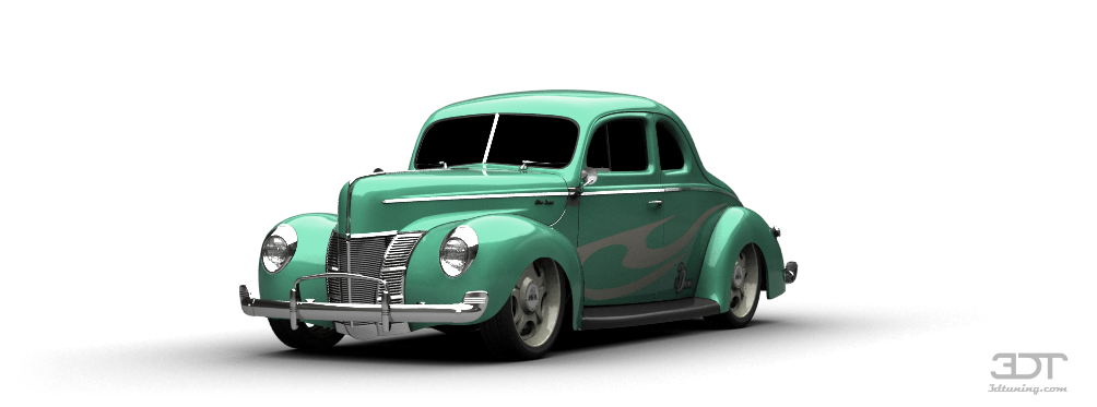 Ford De Luxe Coupe Liftback 1940 tuning