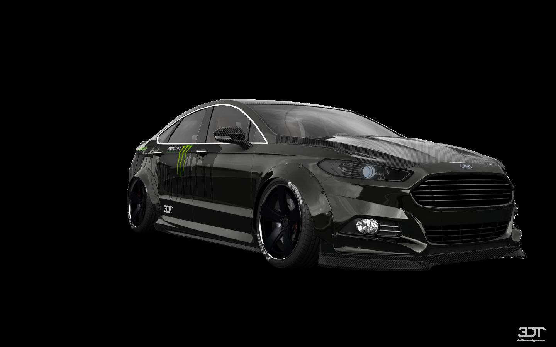 Ford Mondeo 4 Door Saloon 2015 tuning