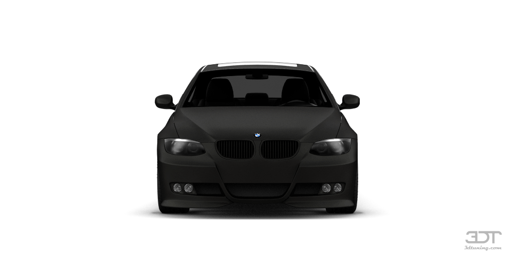 BMW 3 series (facelift) Coupe 2007