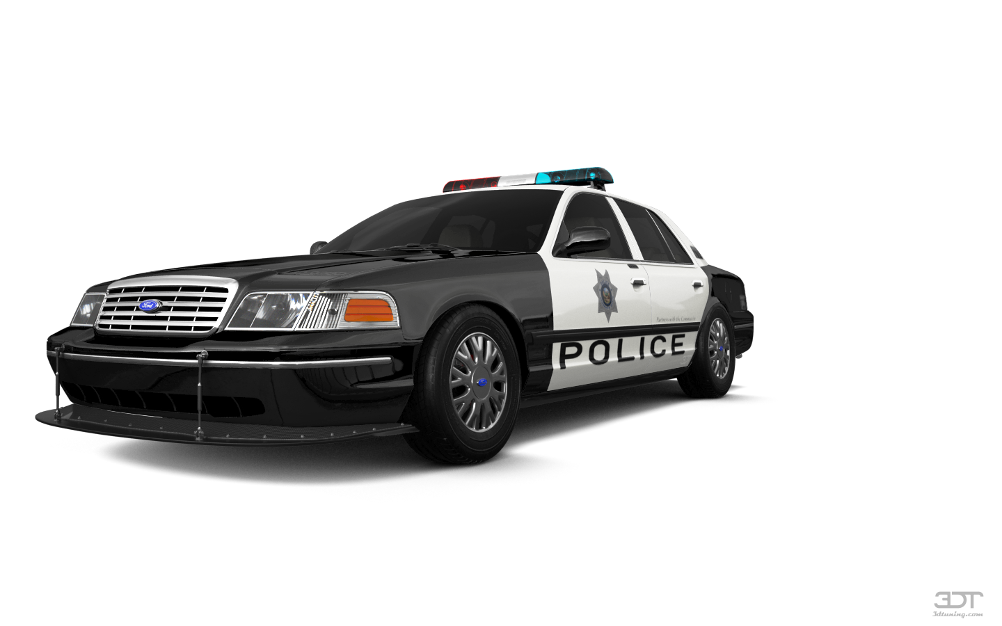 Ford Crown Victoria Sedan 2007 tuning