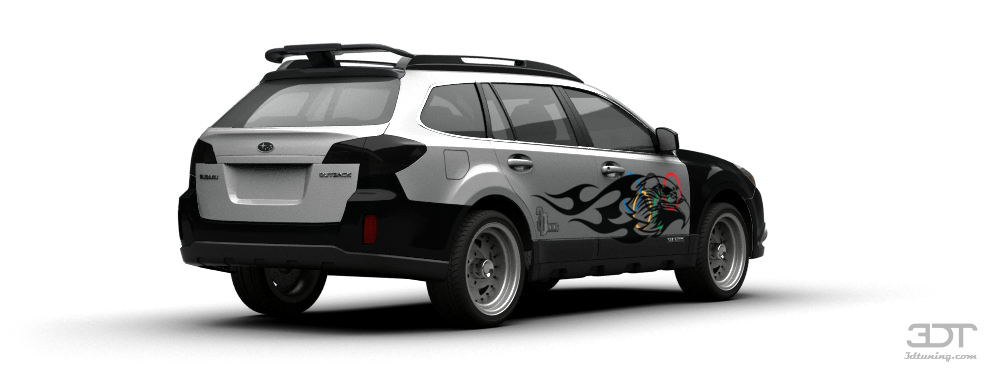3dtuning Of Subaru Outback Crossover 2010 3dtuning Com