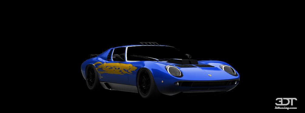 Lamborghini Miura 66 By Donovandeadman