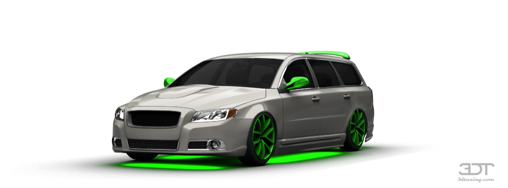 3dtuning Of Volvo V70 Wagon 2011 3dtuning Com Unique On