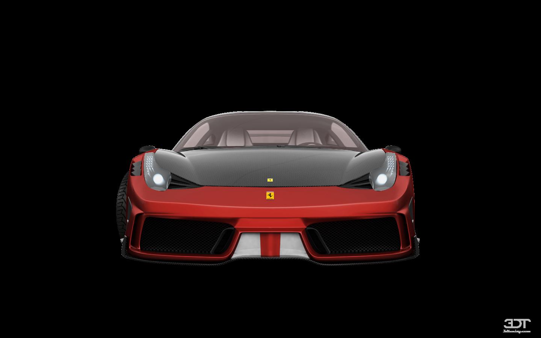 Ferrari 458 Italia 2 door spider 2010