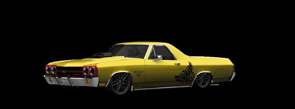 Chevrolet El Camino SS-454 Coupe 1970 tuning