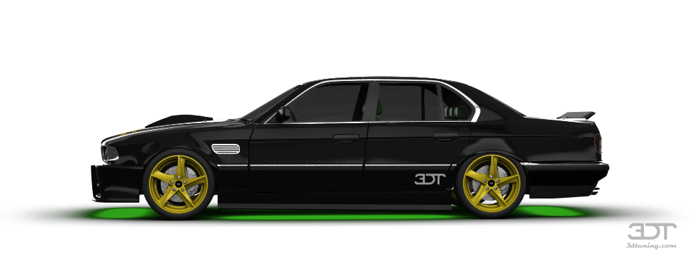 BMW 7 Series Sedan 1986 tuning