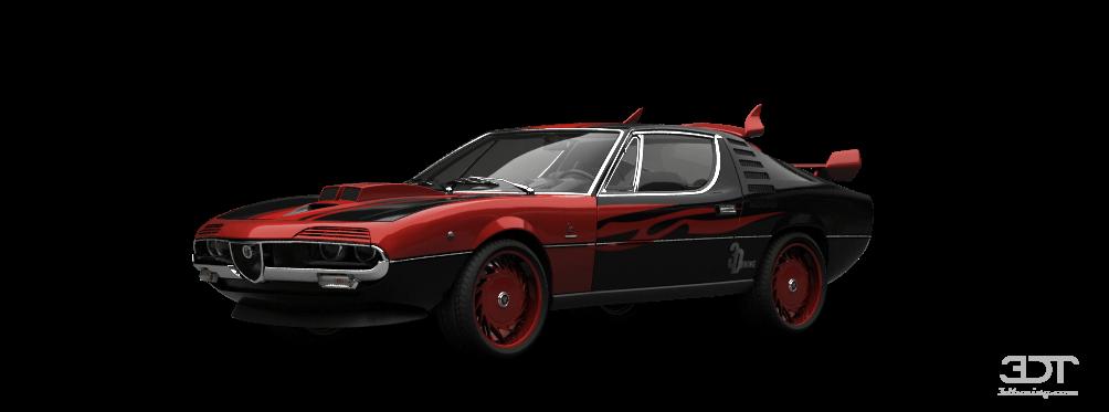 Alfa Romeo Montreal Coupe 1970 tuning