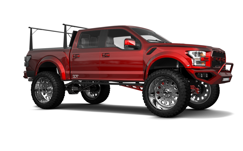 Ford F-150 Raptor 4 Door pickup truck 2017 tuning