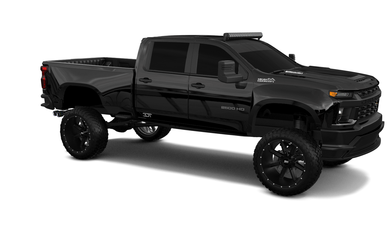 Chevrolet Silverado 2500 HD 4 Door pickup truck 2020 tuning