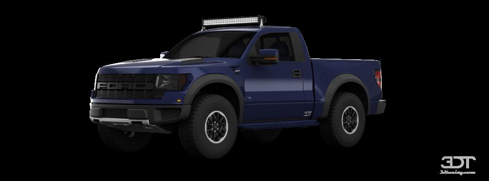 Ford F-150 SVT Raptor RegCab Truck 2013 tuning