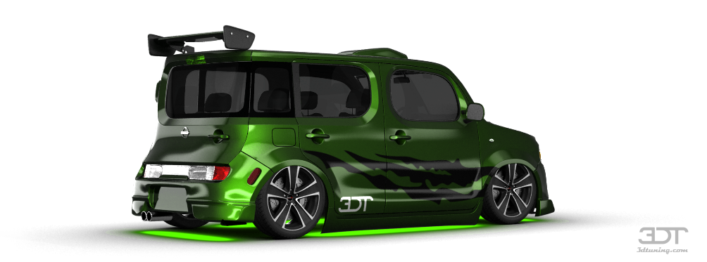 3dtuning Of Nissan Cube Van 2010 3dtuning Com Unique On